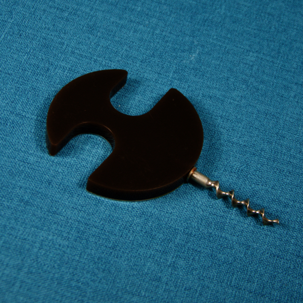 1960s french designer corkscrew 1970s retro brushed steel modernist plastic 5