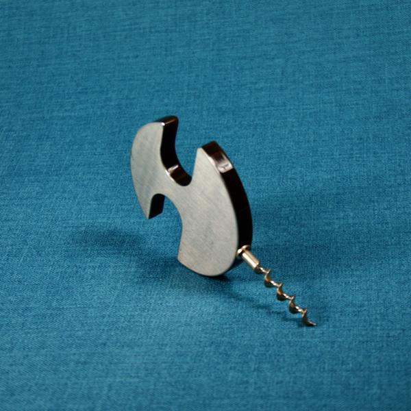 1960s french designer corkscrew 1970s retro brushed steel modernist plastic 6