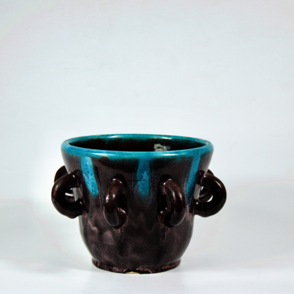Accolay French ceramic planter mid century modern 1960s 3 (1)