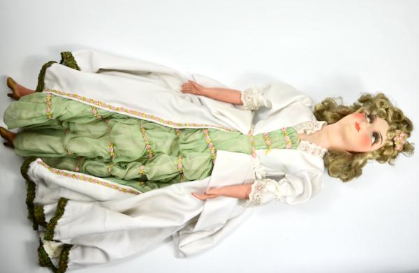 antique french boudoir doll art deco fashion doll 1930 4