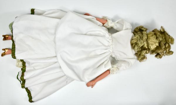 antique french boudoir doll art deco fashion doll 1930 5