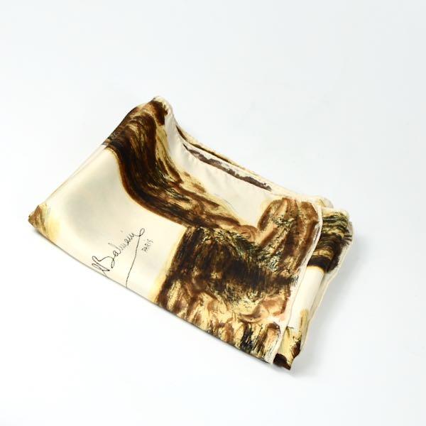 Balmain silk scarf 1950s picture scarf vinage french designer scarf horsemen 3