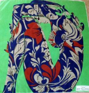 ted lapidus vintage silk scarf eve