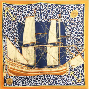 ted lapidus vintage silk scarf ship