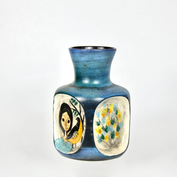 jean de lespinasse 4 sided vase mid century french ceramic 1950s 1960s pottery 1 (1)