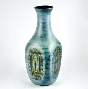 jean de lespinasse large ceramic vase mid century french pottery 1960