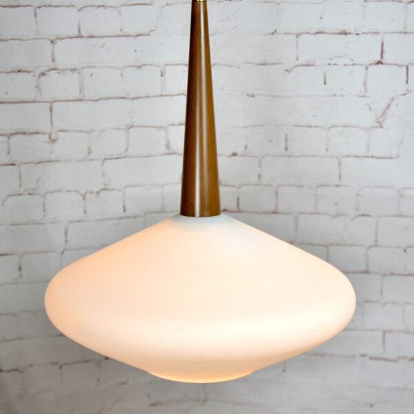 Scandinavian mid century pendant light, 1960s 1